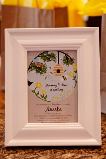 Life Begins with the Birds and the Bees Baby Shower via babyshowerideas4u