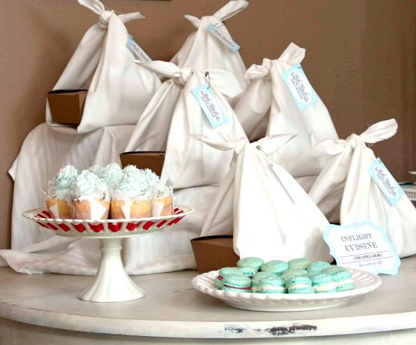 Stork Express Airline Baby Shower Theme decoration ideas