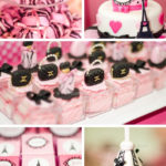 Pink Paris Themed Party