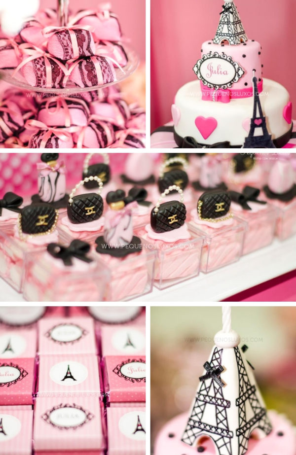 pink-paris-themed-party