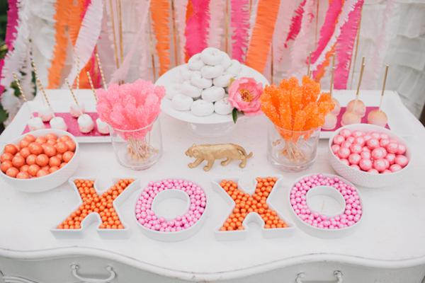 Luxe Circus Baby Shower Theme Ideas for baby girl