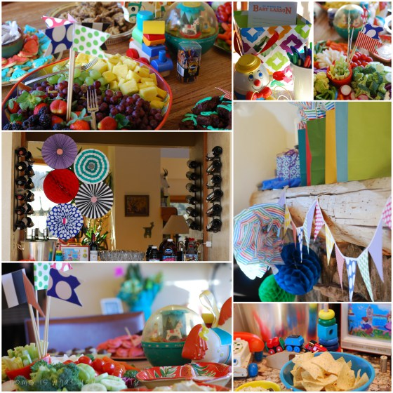 Snips and Snails and Puppy dog Tails Baby Shower