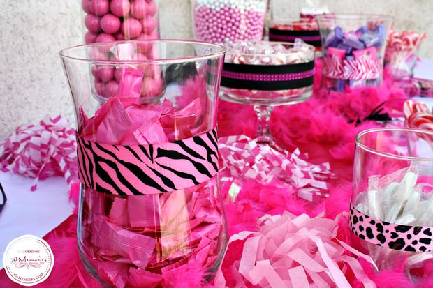 candy buffet baby shower party ideas sweet spice for girls via babyshowerideas4u 12