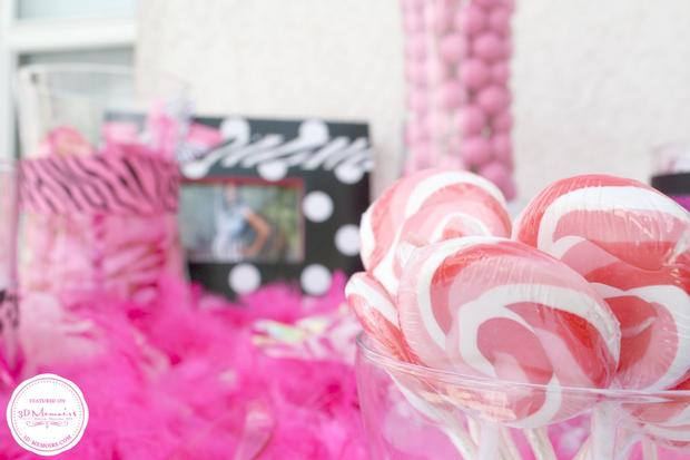 candy buffet baby shower party ideas sweet spice for girls via babyshowerideas4u 8