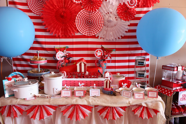 carnival party ideas via babyshowerideas4u - baby shower ideas and shops 1