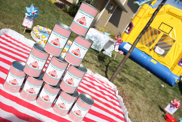 carnival party ideas via babyshowerideas4u - baby shower ideas and shops 23