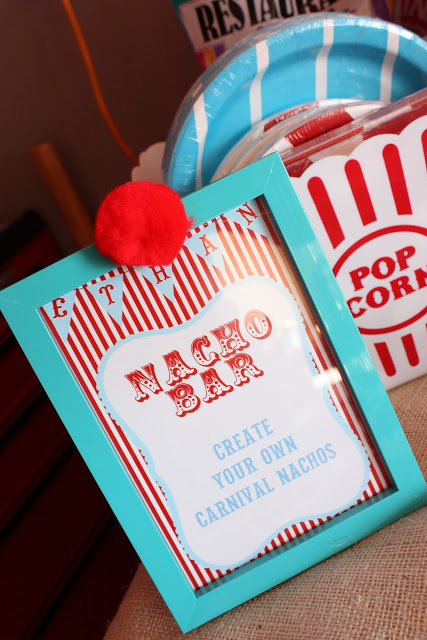 carnival party ideas via babyshowerideas4u - baby shower ideas and shops 3