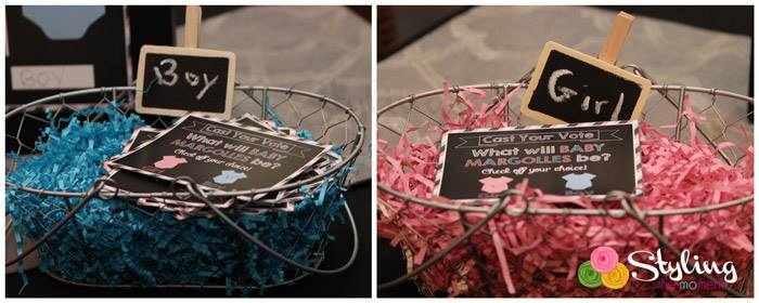 gender reveal party baby shower a boy or a girl via babyshowerideas4u pink or blue