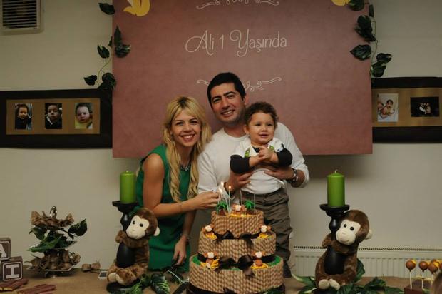 little monkey birthday party
