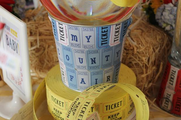 paper tickets roll