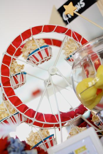 country fair baby shower ferris wheel holder