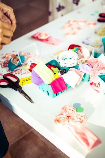 shabby chic bird baby shower ideas via babyshowerideas4u arts and craft station