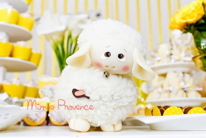little lamb themed baby shower ideas for boys girls