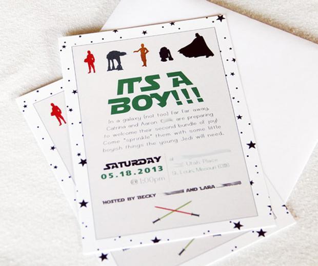 star wars baby shower, baby sprinkle ideas via babyshowerideas4u 1