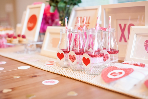St Valentine's Day Party Ideas - Perfect Baby Shower Theme, Decorations via babyshowerideas4u