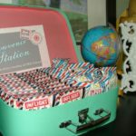 Vintage Travel Themed Baby Shower