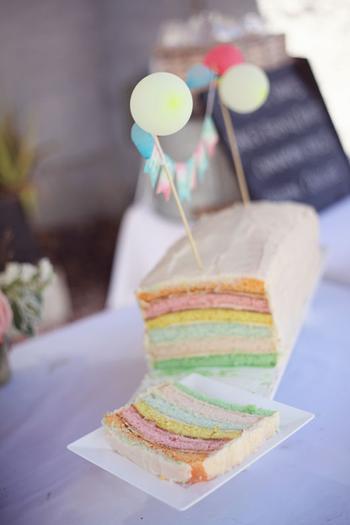 6 layer pastel cake