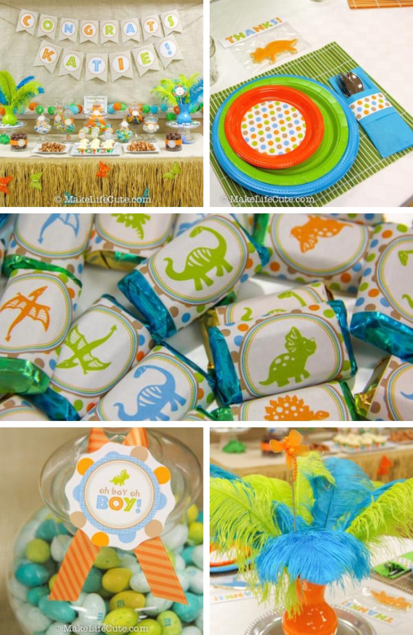 dinosaur-themed-baby-shower