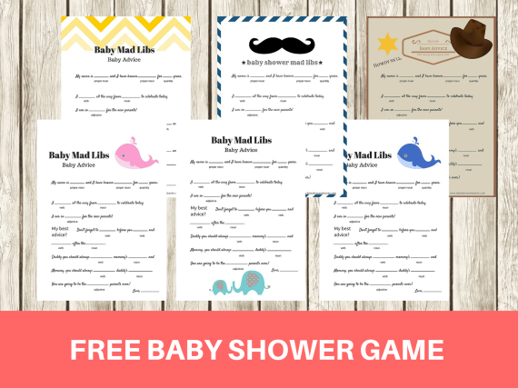 FREE-Printable-baby-shower-mad-libs-game-baby-advice-game-babyshowerideas4u