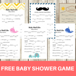 FREE Baby Mad Libs Game – Baby Advice
