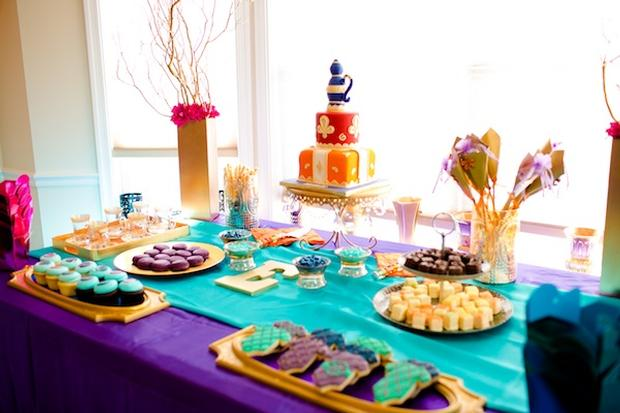 Moroccan Baby Shower Theme via babyshowerideas4u perfect for showers birthday party