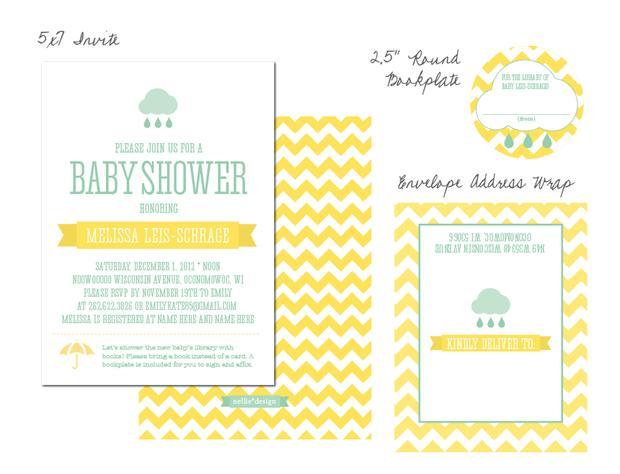 Rain shower baby shower via babyshowerides4u 19