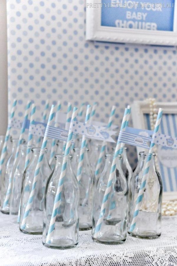 Showered from above Shower Baby Shower theme by Justine via babyshowerideas4u.com 11