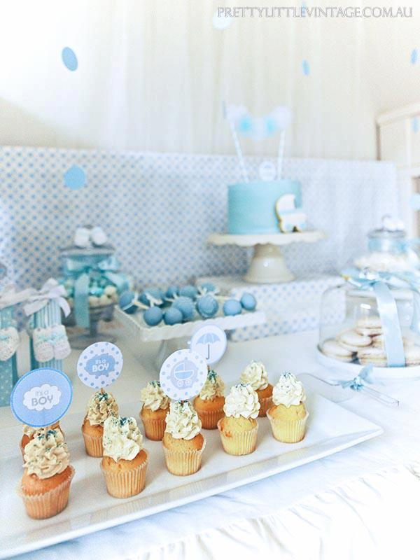 Showered from above Shower Baby Shower theme by Justine via babyshowerideas4u.com 4