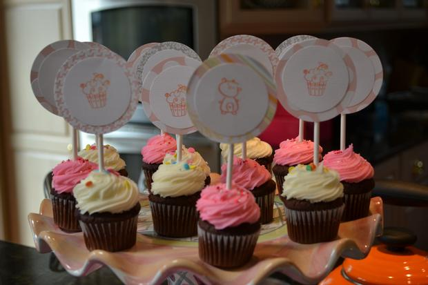baby girl sprinkle via baby shower ideas and shops 1