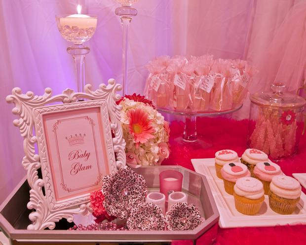 baby glam shower ideas via babyshowerideas4u lovely dessert table so stunning .