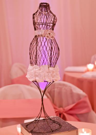 baby glam shower ideas via babyshowerideas4u lovely dessert table so stunning, pregnant manequin centerpiece