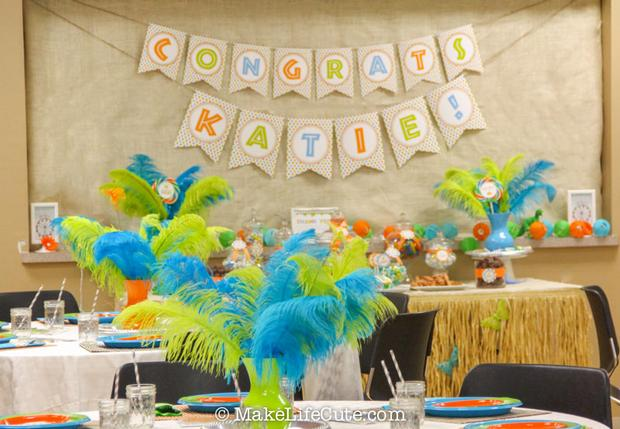 A Fun Dinosaur Themed Baby Shower Baby Shower Ideas