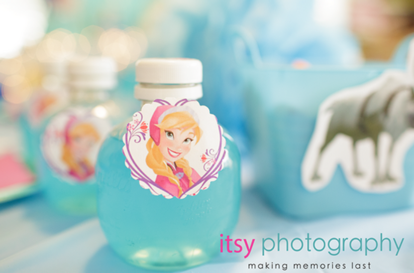 disney's frozen party ideas perfect for birthday party baby shower tiaras for princess treats sven carrots Anna, Elsa, Kristoff, Sven, Hans and even Olaf treats labels