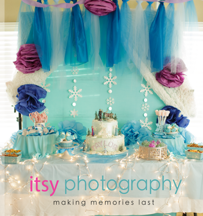 disney's frozen party ideas, frozen themed party