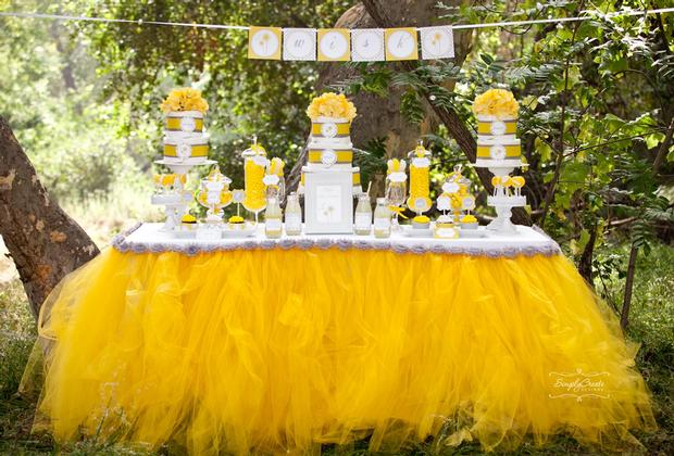 dreams and wishes dandelion baby shower party ideas by Denise