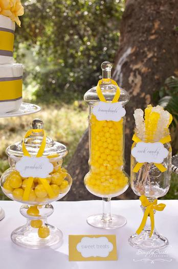 dreams and wishes dandelion baby shower party ideas via babyshoweridesa4u candy buffet