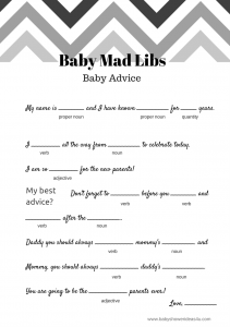 black-chevron-free-baby-shower-mad-libs-baby-advice