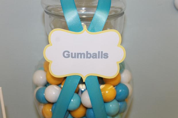 gray blue yellow baby shower ideas via babyshowerideas4u delicious dessert table 5