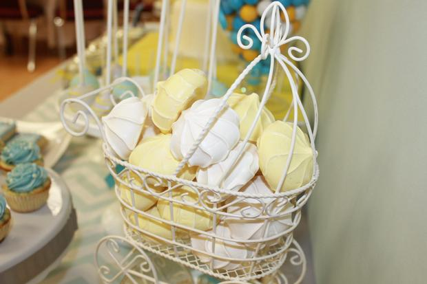 gray blue yellow baby shower ideas via babyshowerideas4u delicious dessert table 8