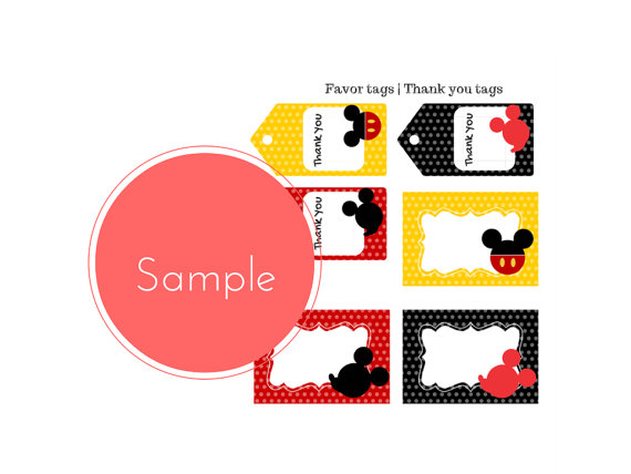 FREE Mickey Mouse Party Printables - Baby Shower Ideas ...