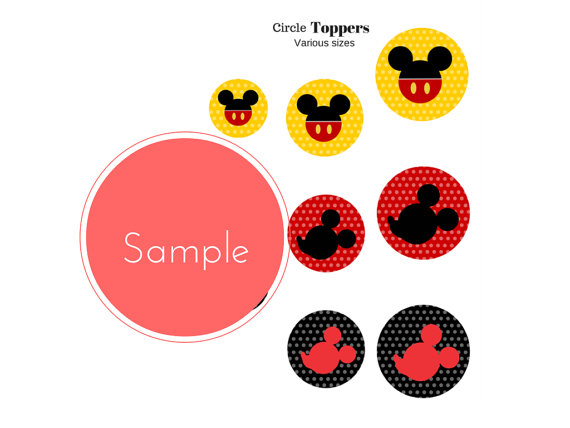 FREE Mickey Mouse Party Printables