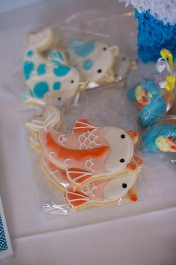 koi fish birthday theme party via baby shower ideas and shops babyshowerideas4u 19