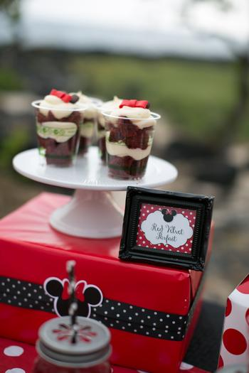 minnie mouse picnic party red black 3