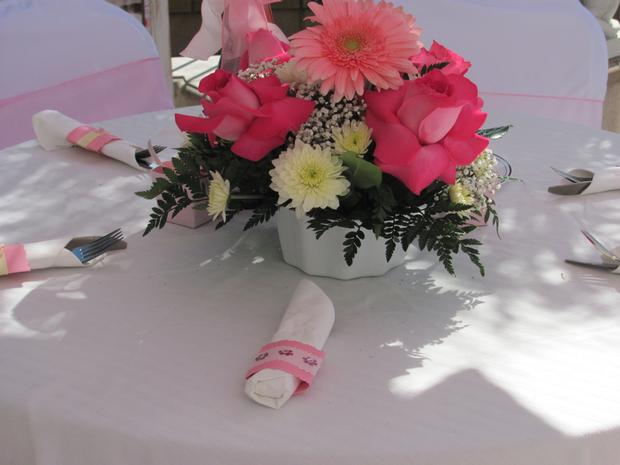 oh baby shower beautiful outdoor baby shower pretty floral arrangement
