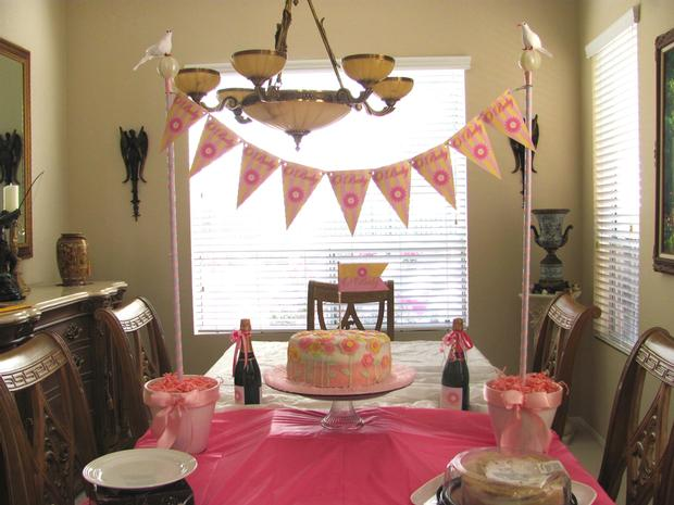 oh baby shower ideas table setting