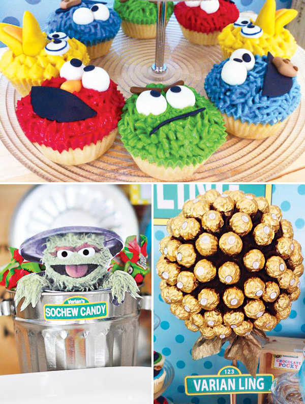 Sesame Street Baby Shower party ideas