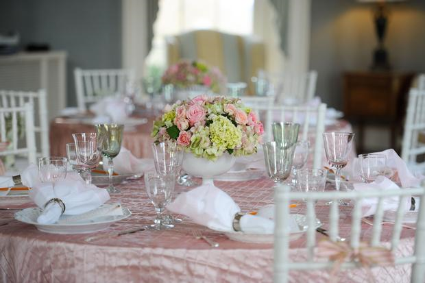 pink green baby shower ideas southern baby shower