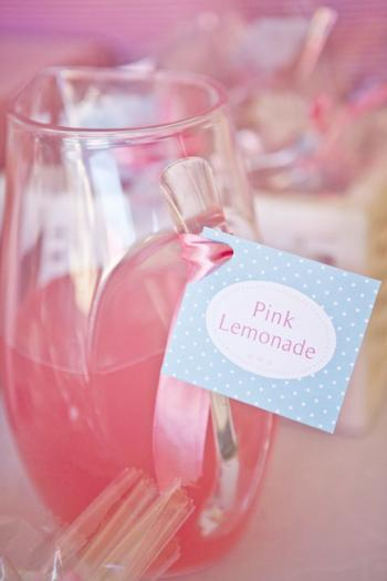 pink vintage hot air balloon baby shower via babyshowerideas4u pink lemonade