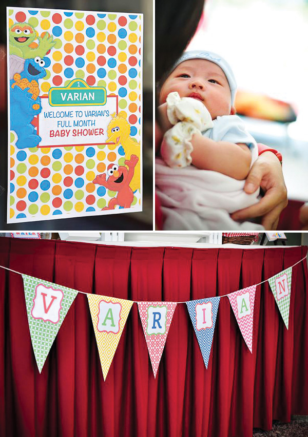 Sesame Street Baby Shower