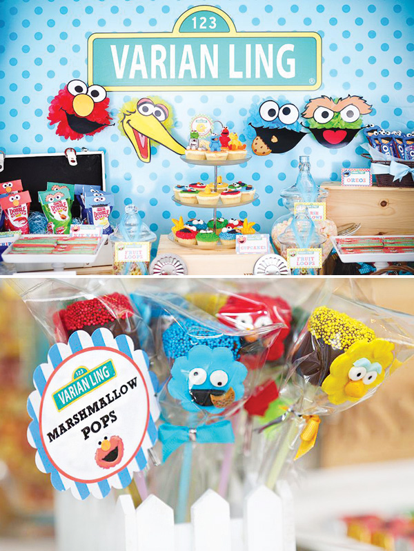 sesame-street-themed-dessert-table-baby-shower-party